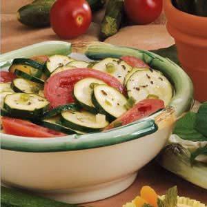 Zucchini Tomato Toss Recipe