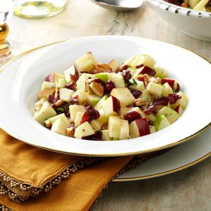 Cinnamon Apple-Nut Salad Recipe