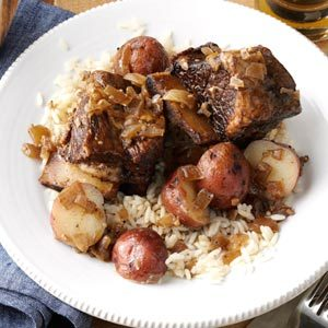 Coffee-Braised Short Ribs Recipe | Taste of Home