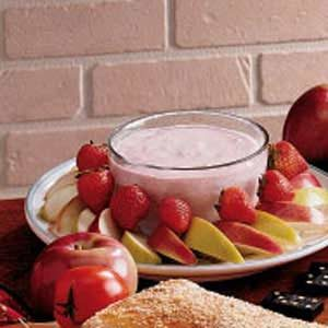 Strawberry Yogurt Dip Recipe
