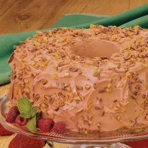 Mocha Angel Food Torte Recipe