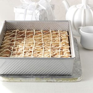 Maple-Glazed Cinnamon Chip Bars Recipe