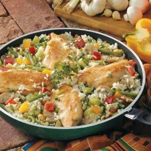 Chicken Rice Skillet Recipe