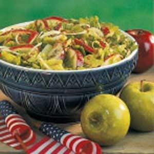 Apple Tossed Salad Recipe