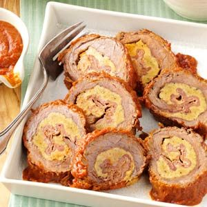 Beef Braciole Recipe photo by Taste of Home