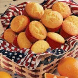 California Orange Muffins Recipe