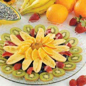 Fruit Salad Sunburst Recipe