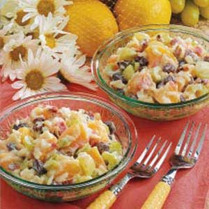 Fruit and Rice Salad Recipe