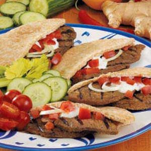 Grilled Beef Gyros Recipe