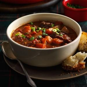 Stovetop Root Vegetable Beef Stew Recipe
