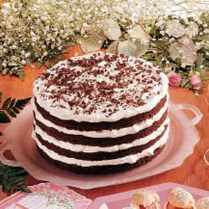Chocolate Bavarian Torte Recipe
