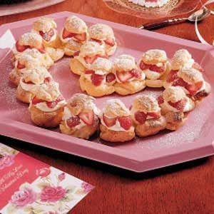Cream Puff Heart Recipe