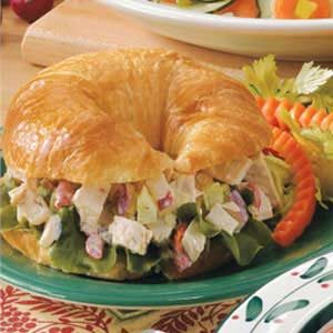 Turkey Salad Croissants Recipe