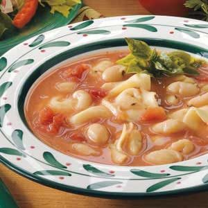 Too-Easy Tortellini Soup Recipe