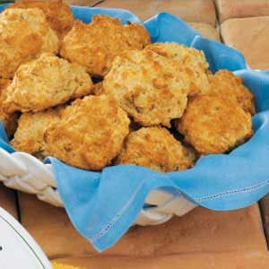 Swiss Onion Drop Biscuits Recipe