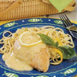 Lemon Linguine