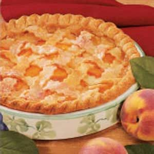 Peaches 'N' Cream Pie