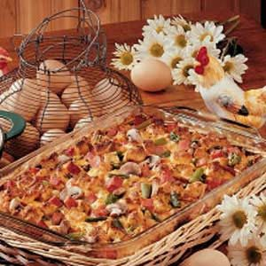 Spring Breakfast Strata Recipe
