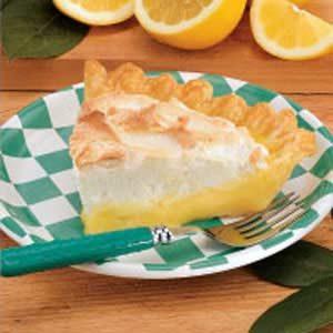 Very Lemony Meringue Pie Recipe