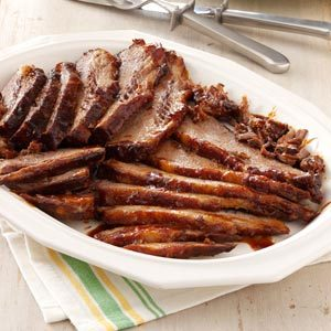 Barbecued Beef Brisket Recipe