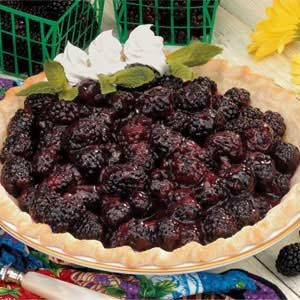 Glazed Blackberry Pie Recipe