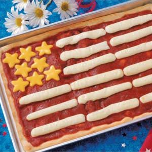 Fourth of July Pizza Recipe