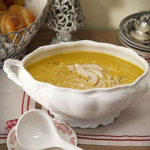 Acorn Squash & Pear Soup Recipe