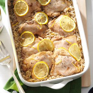 Lemony Chicken & Rice Recipe