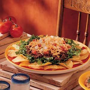 Quick Taco Platter Recipe
