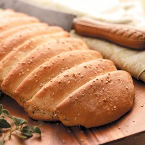 Buttery Herb Loaves Recipe