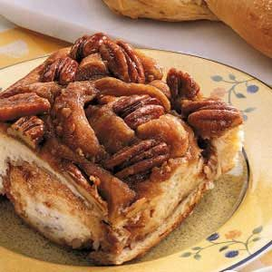 Giant Upside-Down Pecan Rolls Recipe