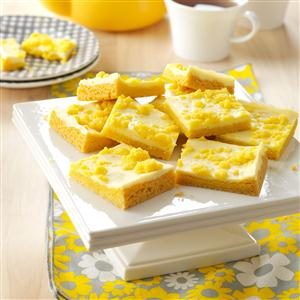 Lemony Cream Cheese Bars Recipe