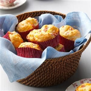 Ham and Cheese Muffins Recipe