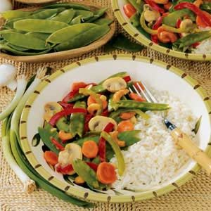 Citrus Veggie Stir-Fry Recipe
