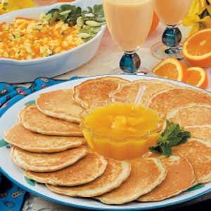 Bran Griddle Cakes Recipe