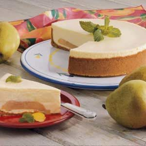 Makeover Pear Cheesecake Recipe