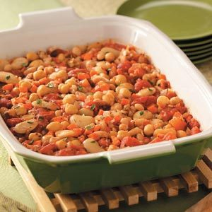 Three-Bean Cassoulet Recipe