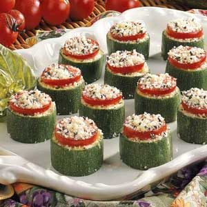 Cheesy Zucchini Bites Recipe