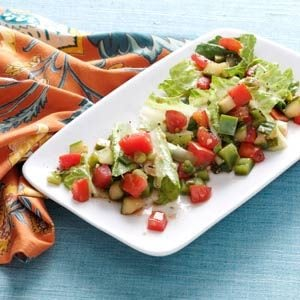 Spicy Gazpacho Salad Recipe | Taste of Home