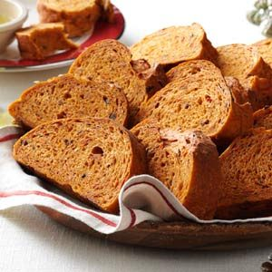 Sun-Dried Tomato & Olive Loaf Recipe