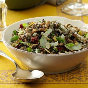 Fennel Wild Rice Salad Recipe