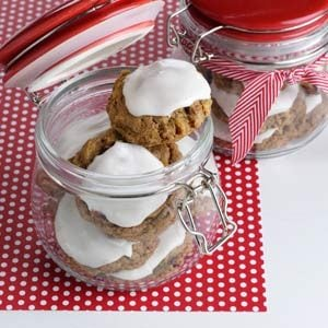 Gingerbread Fruitcake Cookies