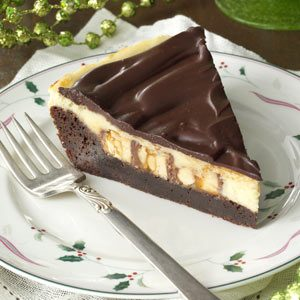 Brownie Cheesecake Snickers Pie Recipe