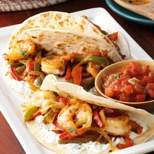 Shrimp Fajitas Recipe