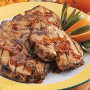 Orange-Ginger Pork Chops Recipe