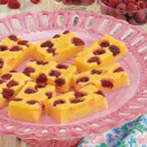 Raspberry Citrus Bars