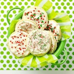 Frosted Anise Cookies Recipe