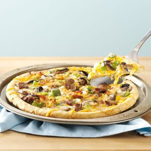 Philly-Style Barbecue Pizza Recipe