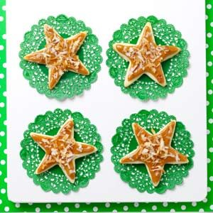 Caramel Coconut Stars Recipe