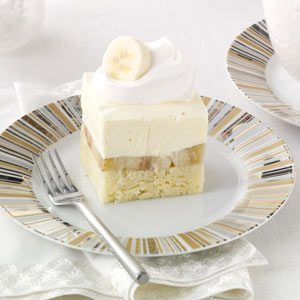 Bananas & Cream Pound Cake Recipe